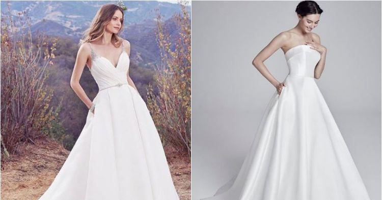 7 Tren gaun pengantin bersaku bisa jadi inspirasi untuk