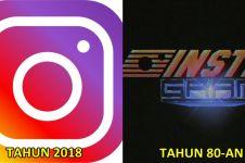 8 Logo media sosial dibuat ala tahun 80-an, vintage abis