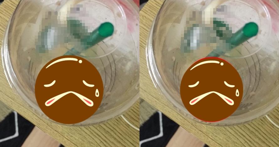 Minum kopi dari merek ternama, yang ditemukan cewek ini bikin mual