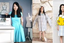 Ibu ini rombak 15 baju lawas jadi lebih modis & kekinian, kreatif abis