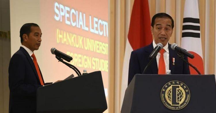Cerita mahasiswi Hankuk soal kuliah umum Jokowi pakai Bahasa Indonesia