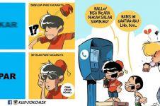 7 Komik strip balada kehidupan di komik ini ngena banget di hati kamu