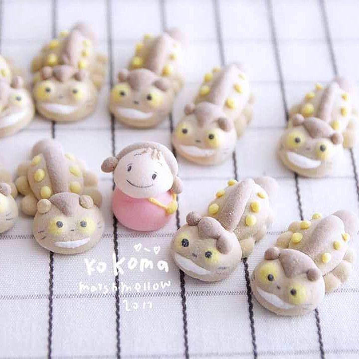 marshmallow bentuk karakter kartun © 2018 Istimewa