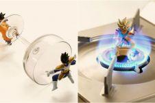 10 Action figure Dragon Ball digabung benda di dapur, tampak hidup lho