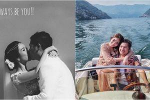Rayakan ulang tahun pernikahan, postingan Gading Marten bikin baper
