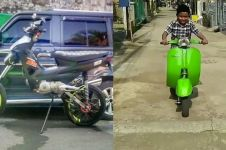 8 Modifikasi absurd kendaraan ini cuma ada di Indonesia, ngakak ngegas