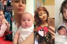 10 Potret kocak beda gaya ibu saat santai vs ngurus anak