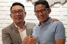 Ngopi bareng, bukti hubungan Ridwan Kamil & Sandiaga Uno adem ayem