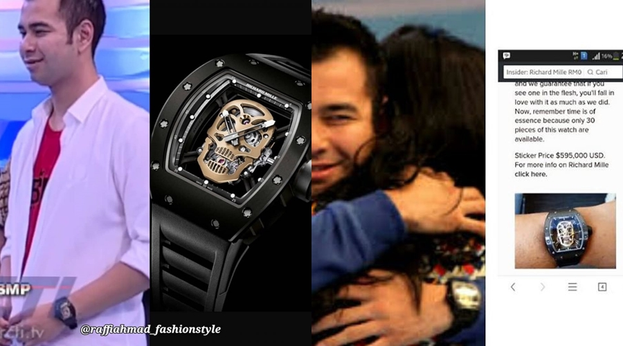 seleb koleksi jam tangan  © 2018 brilio.net