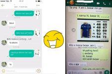 7 Chat penjual dan pembeli online shop ini kocak, sama-sama ngeyel