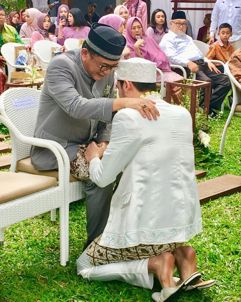 anak dewi yull nikah  © 2018 brilio.net