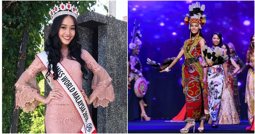 10 Potret Larissa Ping, gadis Dayak yang juarai Miss World Malaysia