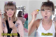 15 Potret wanita di Instagram vs realita ini bikin kamu senyum simpul