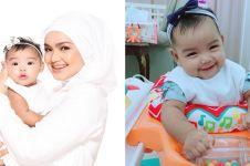 Gemesin abis, ini 10 tingkah lucu Siti Aafiyah putri Siti Nurhaliza