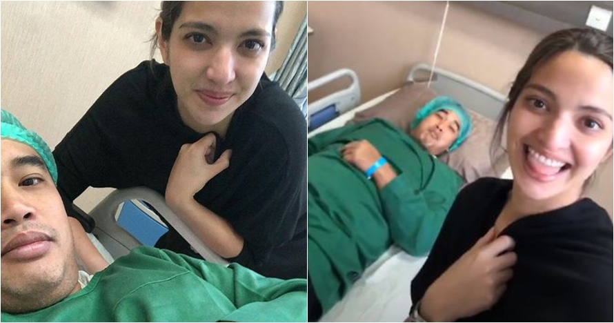 6 Momen manis Nia Ramadhani dampingi Ardi Bakrie yang mau operasi