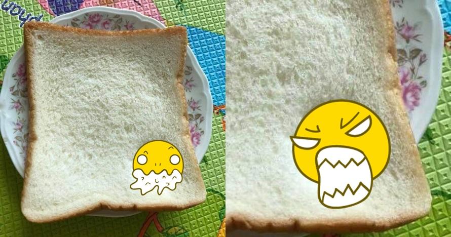 Mau makan roti, pria ini temukan jejak tak terduga yang bikin kesel