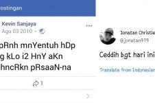 6 Pebulutangkis Indonesia ini pernah unggah status alay, bikin ngakak