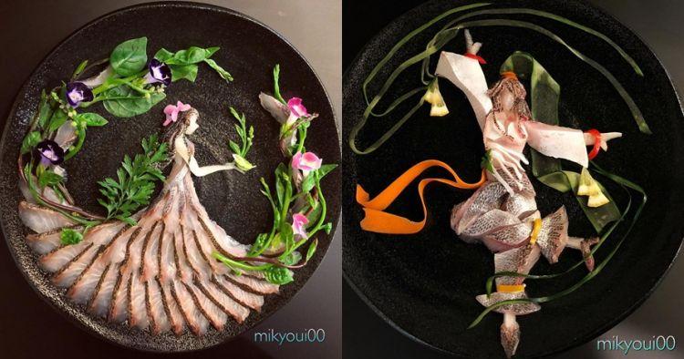 10 Karya dari irisan daging ikan ini hasilnya sungguh mengagumkan