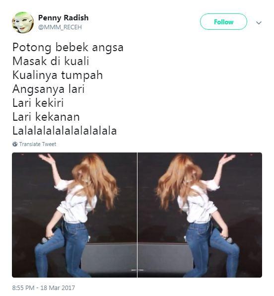 pelesetan Potong Bebek Angsa © 2018 Twitter