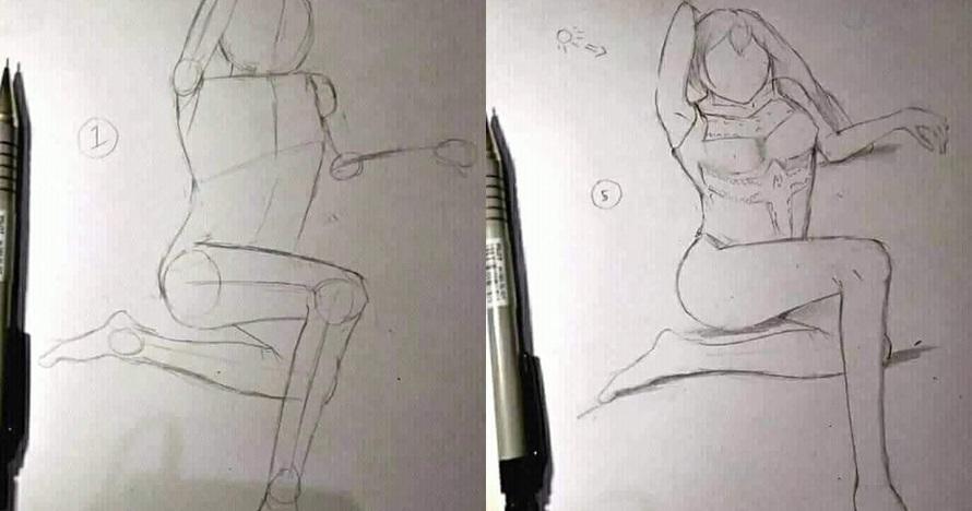 5 Teknik menggambar ini awalnya meyakinkan, endingnya bikin syok berat