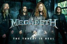 Tampil di Indonesia, Megadeth undang Jokowi dan Ganjar Pranowo