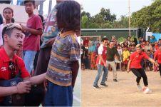 10 Momen atlet juara Asian Games bantu korban bencana di Lombok, salut