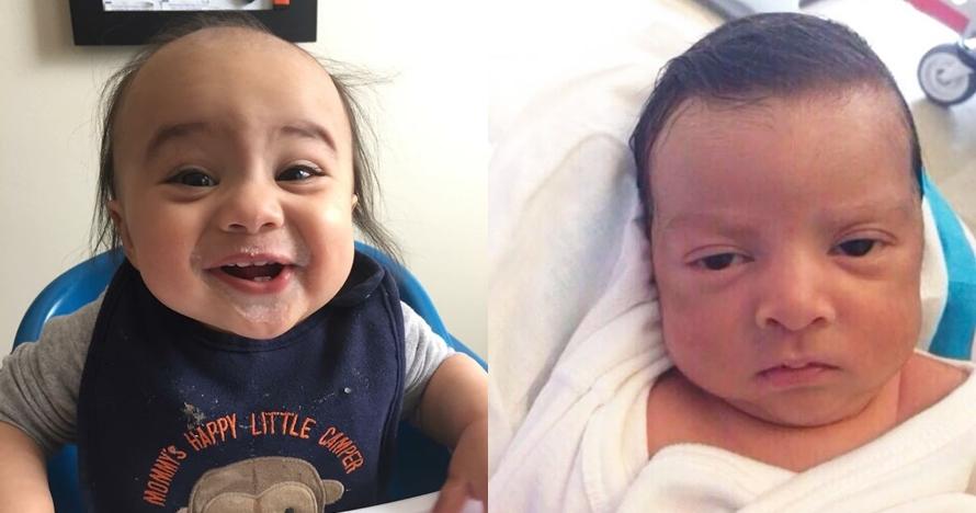 Ekspresi Bayi Bak Orangtua Ini Kocaknya Dijamin Bikinal Gemes