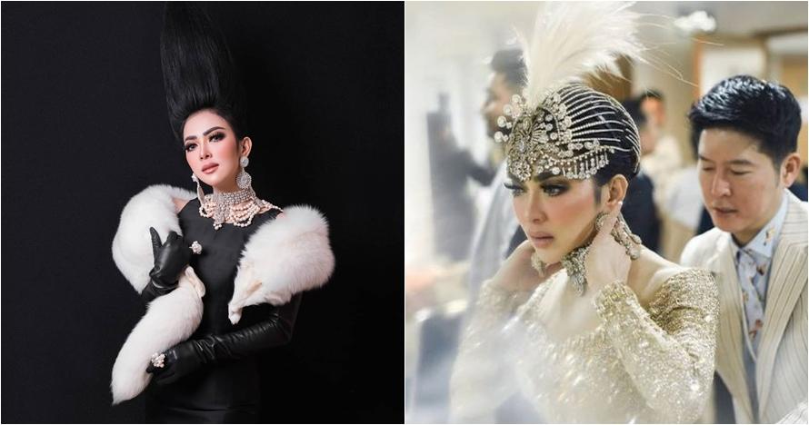 8 Kostum cetar Syahrini saat konser Journey, dari glamor sampai seksi