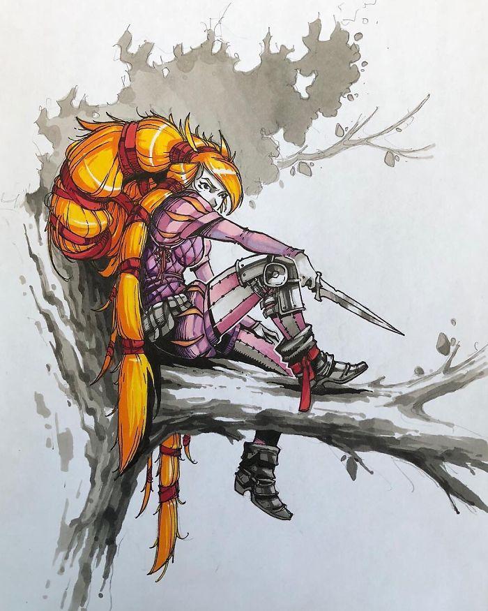 putri disney superhero © Boredpanda