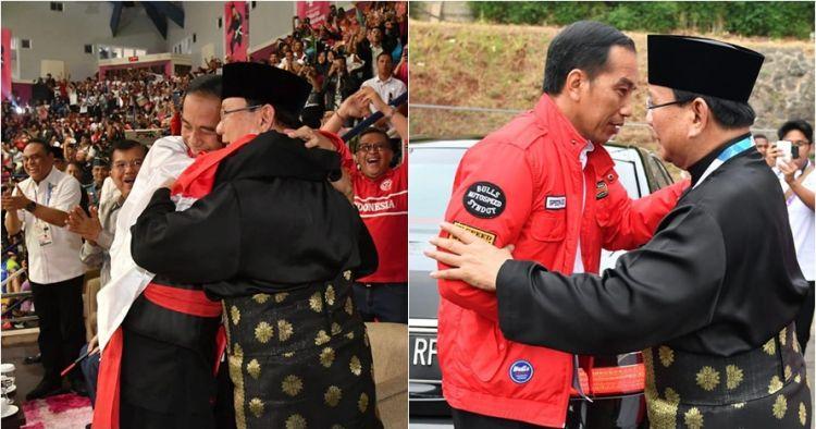 Sah, ini nomor urut Jokowi-Ma'ruf dan Prabowo-Sandiaga di Pilpres 2019