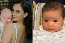 Baru lahir, 5 anak seleb ini keindahan matanya dikagumi banyak orang