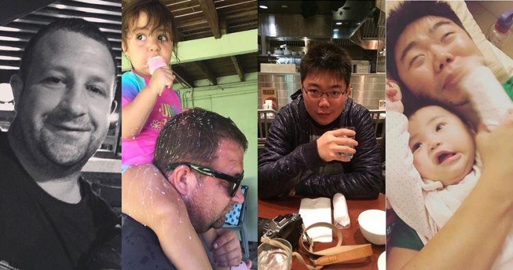 10 Ekspresi kocak ayah saat santai vs asuh anak, kontras banget