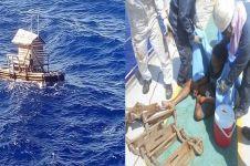 Sempat hanyut berbulan-bulan di laut lepas, pria Sulawesi ini selamat