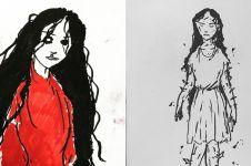 Seramnya hantu yang muncul di 'Memburu Misteri', ini 10 sketsanya