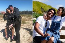 Jedar pamer skydiving sama Richard, tangan sang kekasih jadi sorotan