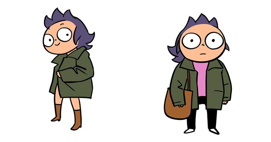 ekspektasi vs realita baju kekinian ©boredpanda.com