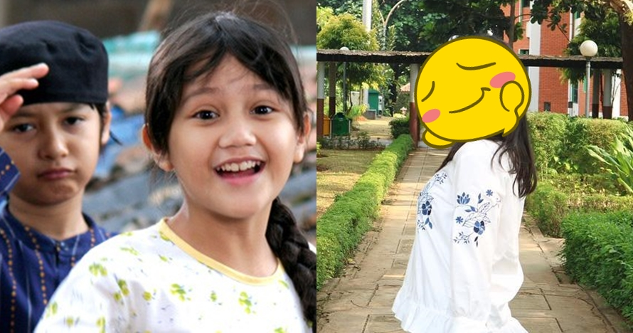 Lama tak muncul di TV, ini 10 potret terbaru 'Eneng' Kaos Kaki Ajaib