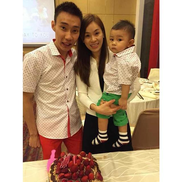 keluarga lee chong wei © 2018 instagram