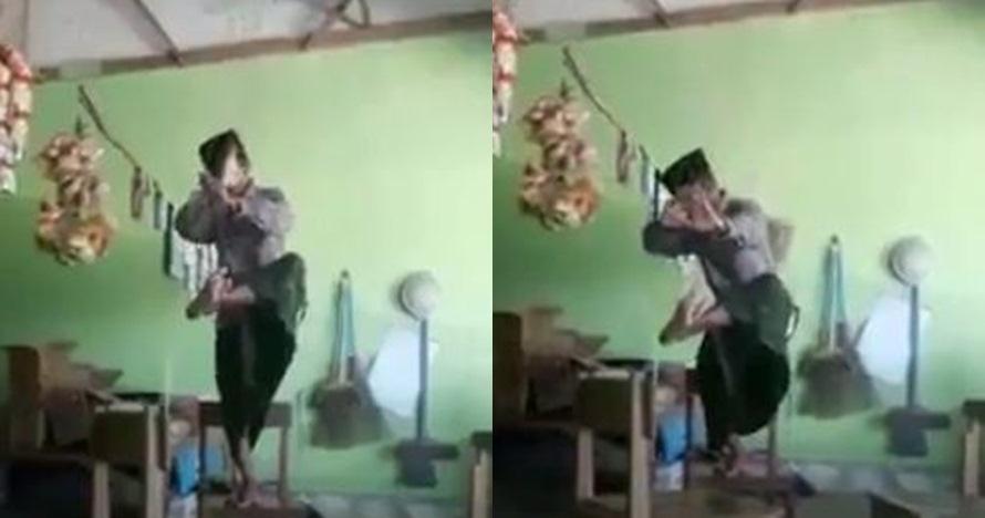 Pamer gerakan seni bela diri, pria ini justru alami kejadian apes
