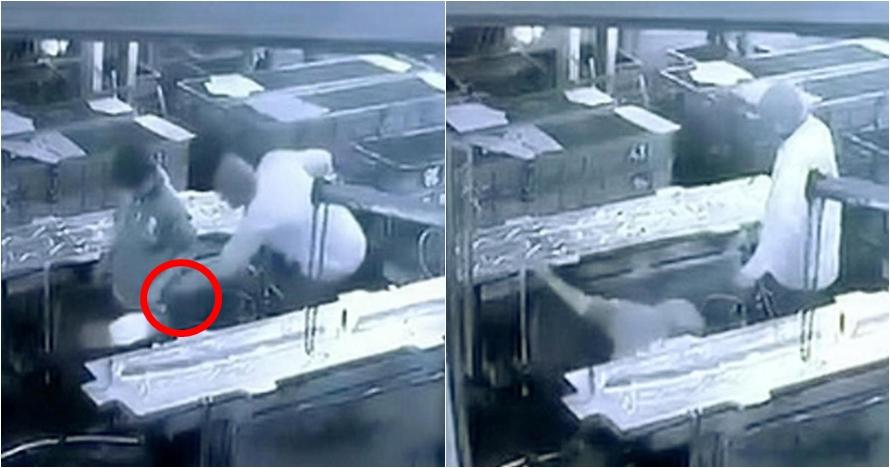 Dikerjai bos dengan kompresor angin, nasib pria ini berujung tragis