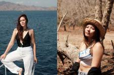 10 Potret seksi Wulan Guritno & Shaloom liburan di NTT, memesona