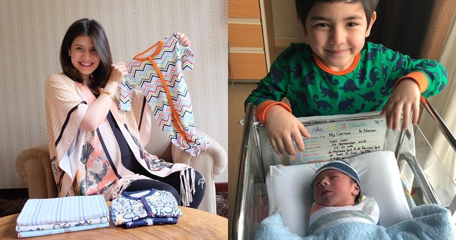 10 Potret menggemaskan Zenecka Acana Naif, putra kedua Carissa Putri