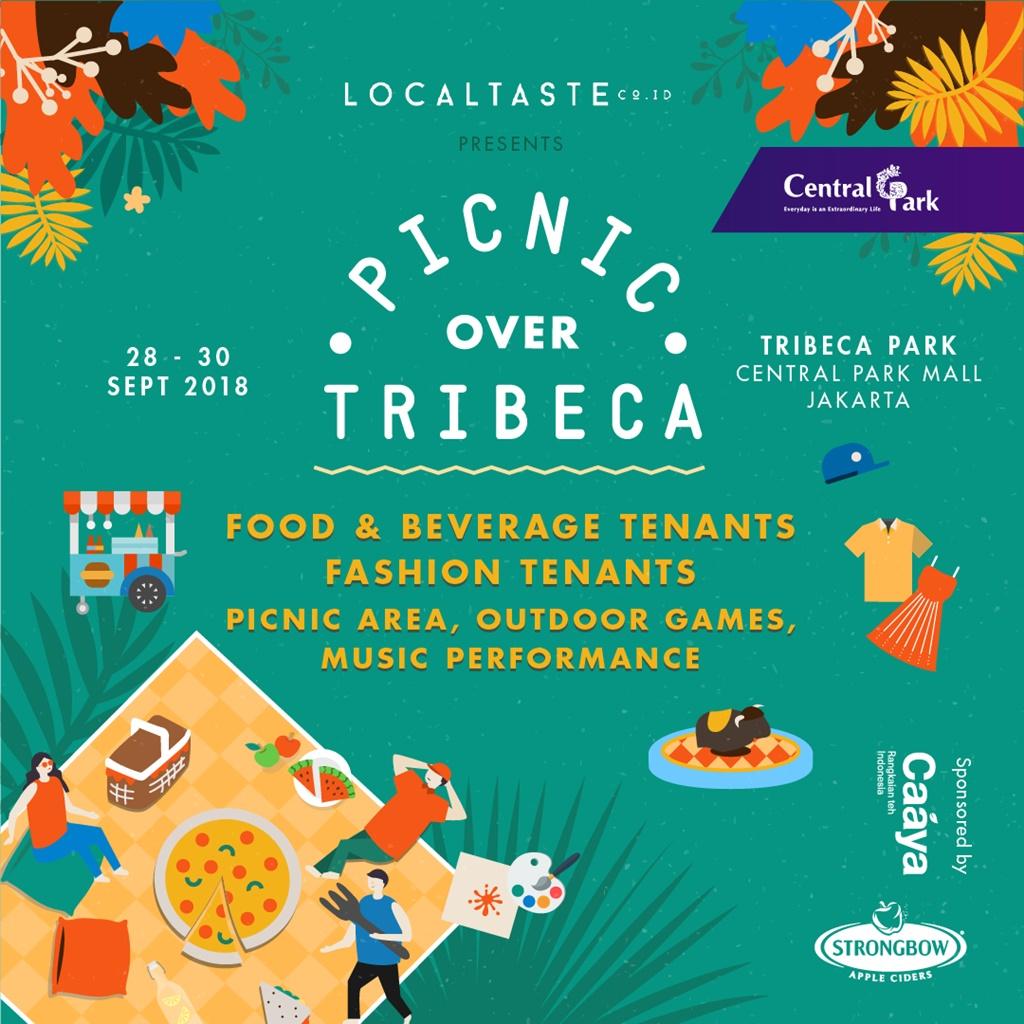 Piknik di tengah kota? Bisa banget kamu wujudkan di acara ini!