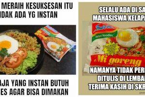 Pencinta Indomie pasti merasa 7 meme ini 'gue banget', kamu juga?
