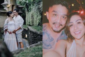 Romantis abis, ini momen intim 8 pasangan seleb saat babymoon di Bali