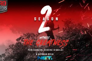 Bukan settingan, ini 5 momen dramatis PRO WARRIORS Season 2