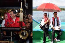9 Momen kebersamaan Jokowi dan Iriana ini sederhana tapi romantis