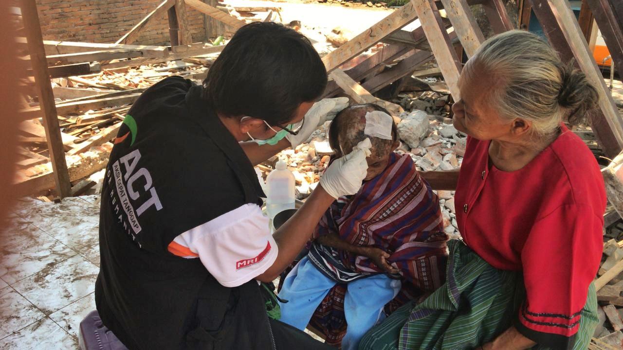 Kisah haru Rika, anak korban gempa Lombok yang mengidap penyakit kusta