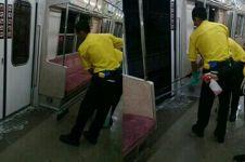 Wanita ini buang air besar di KRL, penumpang satu gerbong heboh