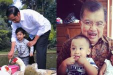 Momen manis 5 politisi main bareng cucu, beda banget sama pas kerja